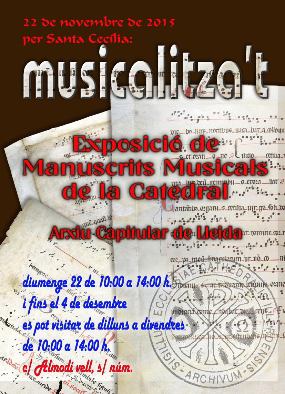 Exposició de Manuscrits Musicals de la Catedral